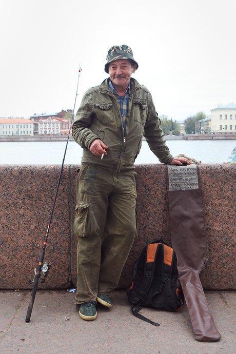 Люди в городе: Рыбаки Петербурга. Изображение № 27.