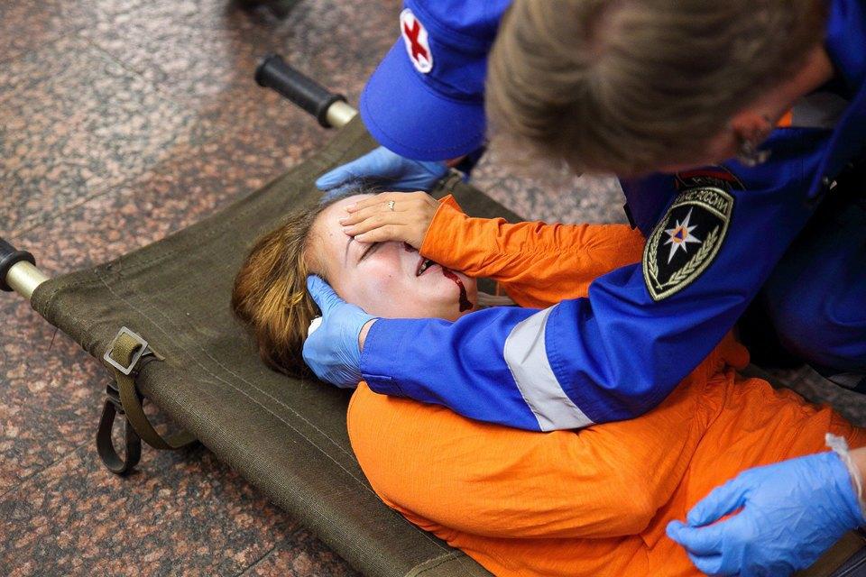 Учения в петербургском метро по сценарию московской катастрофы. Изображение № 23.