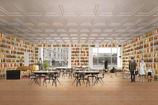 На Чистопрудном открылась обновлённая библиотека имени Достоевского. Изображение № 1.