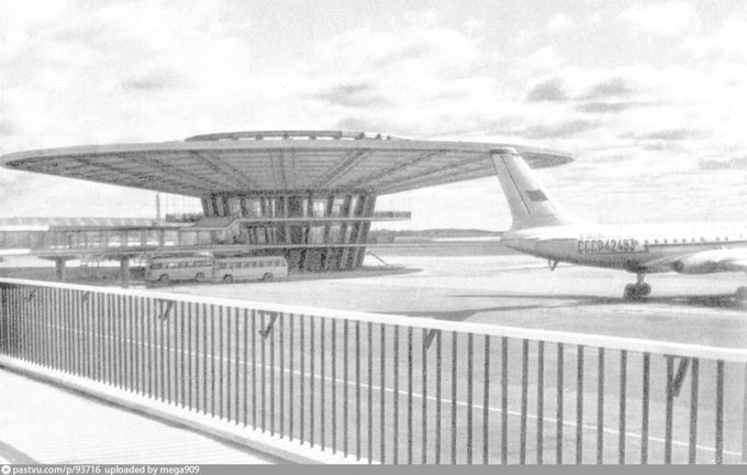 В аэропорту Шереметьево сносят павильон «Рюмка». Изображение № 1.