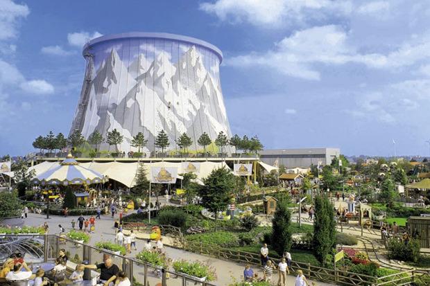 Идеи для города: Парк развлечений в атомной станции. Изображение № 5.