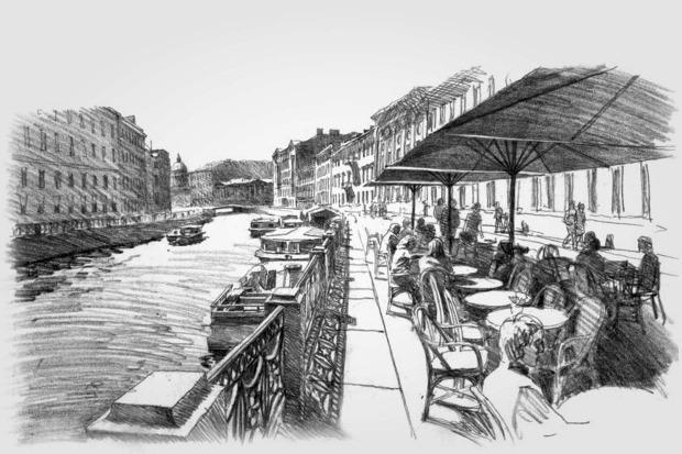 Проект развития района вокруг Конюшенной площади. Изображение № 4.