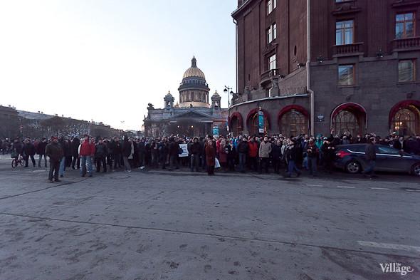 Фоторепортаж: Митинг 5 марта на Исаакиевской площади. Изображение № 32.