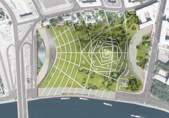 Москомархитектура выбрала 118 проектов парка в Зарядье. Изображение № 39.
