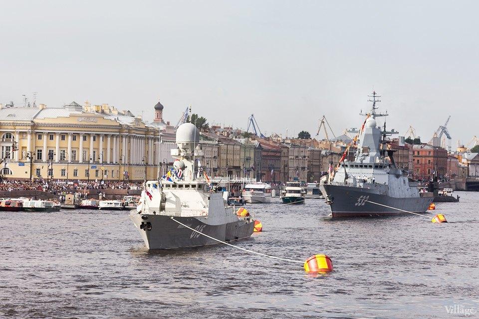 Фоторепортаж: День Военно-Морского флота вПетербурге. Изображение № 1.