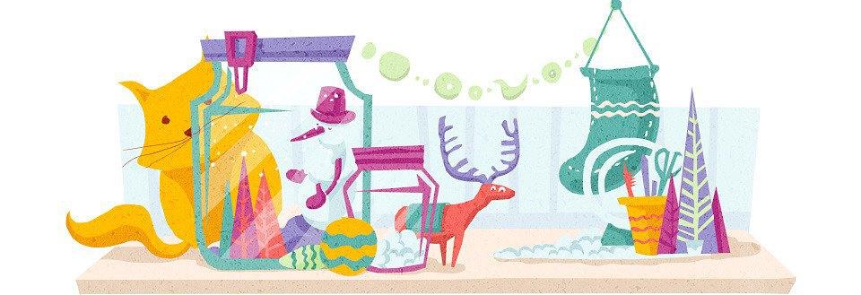 Домпросвет: Как украсить квартиру к Новому году. Изображение № 13.