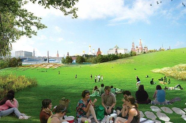 Парк в Зарядье: Проекты победителей и мнения экспертов. Изображение № 15.