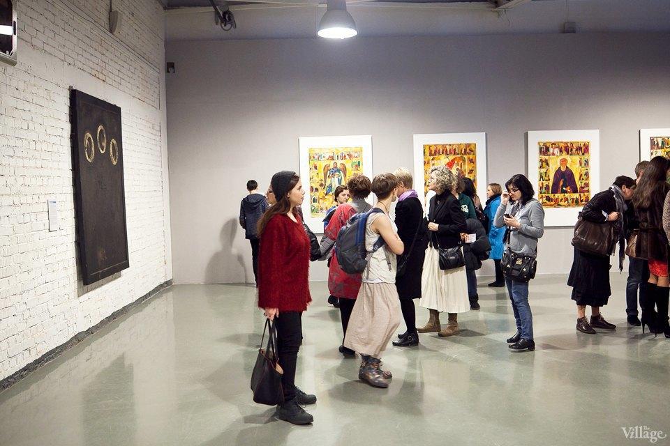 Люди в городе: Первые посетители выставки Icons в Петербурге. Изображение № 13.