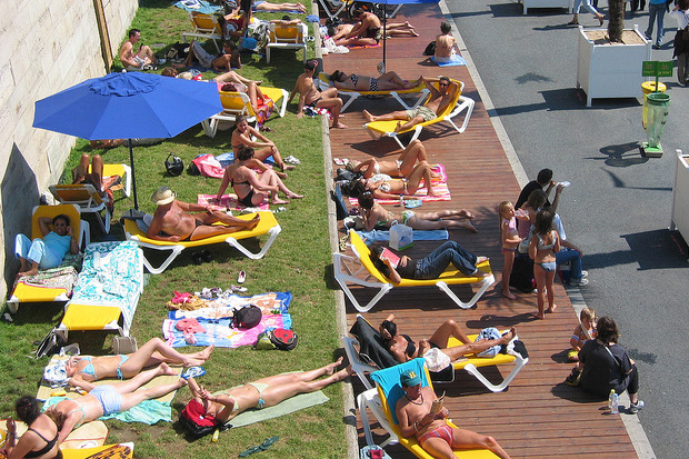 Иностранный опыт: 6 городских пляжей. Изображение № 12.