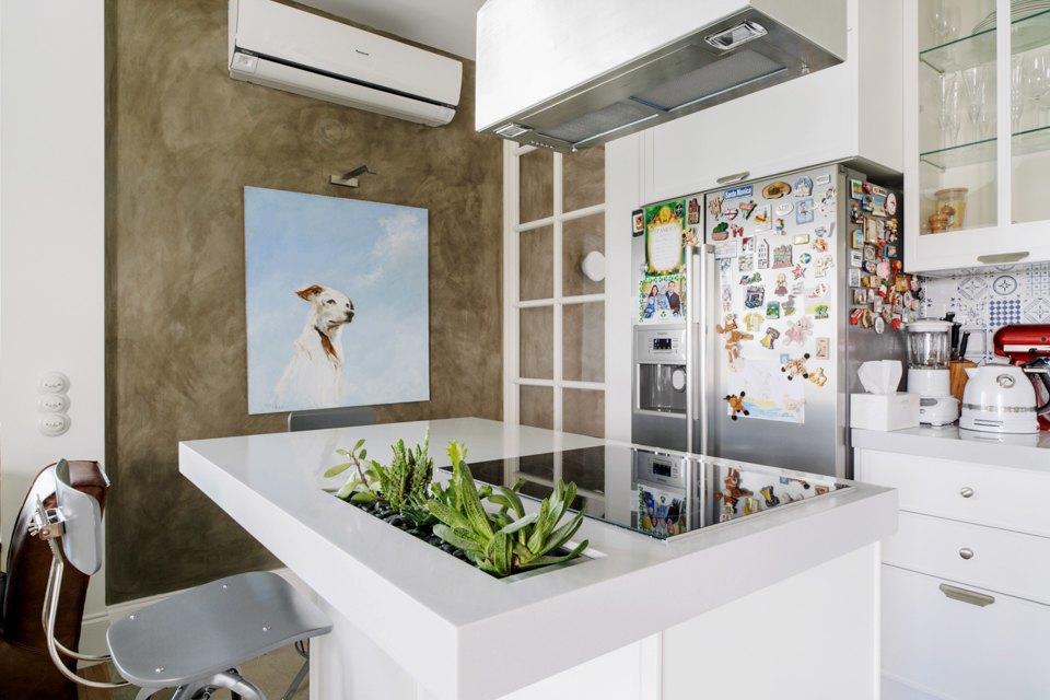 Четырёкомнатная квартира в американском стиле для семьи сдвумя детьми. Изображение № 10.
