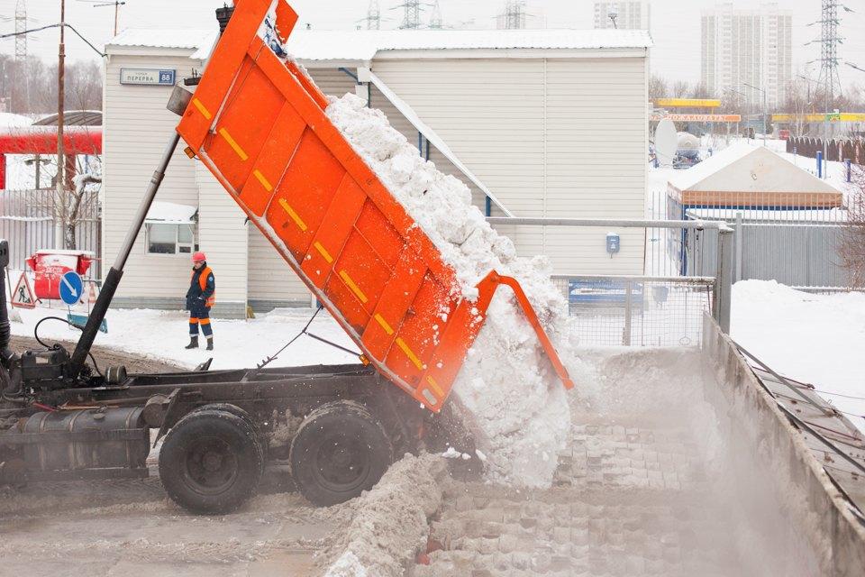 Летел и таял: Как в Москве плавят снег. Изображение № 9.