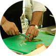 Omnivore Food Festival: Майкл Гринвольд и Симоне Тондо готовят орзотто из ячменя и тартар из голубя. Изображение № 19.