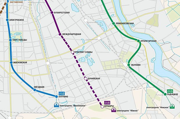 Фрунзенский радиус петербургского метро попробуют сдать нагод раньше. Изображение № 1.
