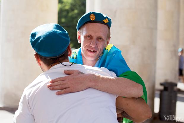 Люди в городе: Как отмечали День ВДВ в парке Горького. Изображение № 1.