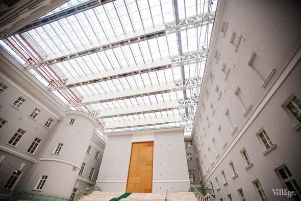Фоторепортаж: Реконструкция Главного штаба изнутри. Изображение № 6.