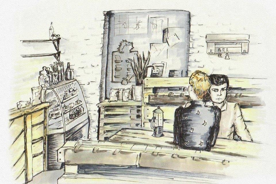 Клуб рисовальщиков: Кофейня LES. Изображение № 6.