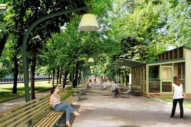 Реконструкция бульваров: Проект Wowhaus. Изображение № 1.