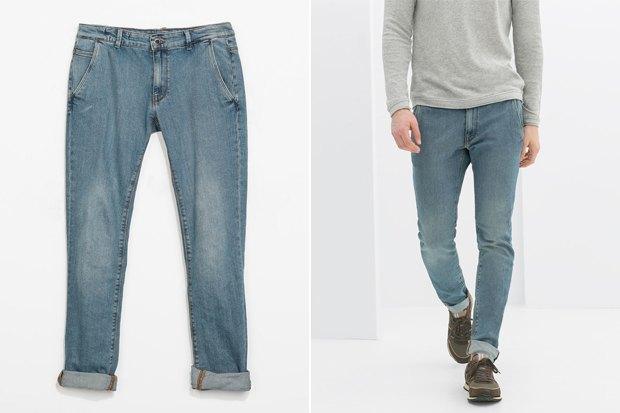 Где купить мужские джинсы прямого кроя: 9вариантов от 1655рублей до 13тысяч. Изображение № 3.