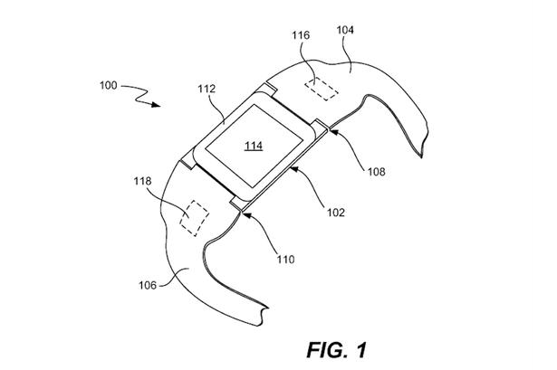 Apple запатентовала смарт-часы iTime. Изображение № 1.