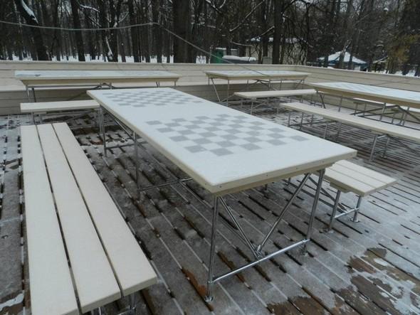 В Нескучном саду открылся шахматный клуб «Белая ладья». Изображение № 8.