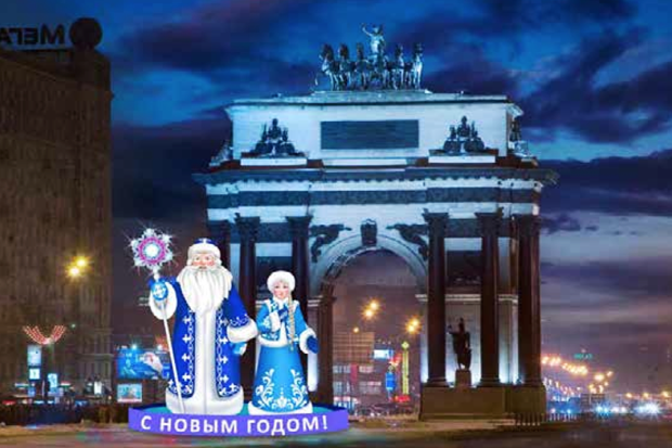 Как украсят Москву кНовомугоду. Изображение № 41.