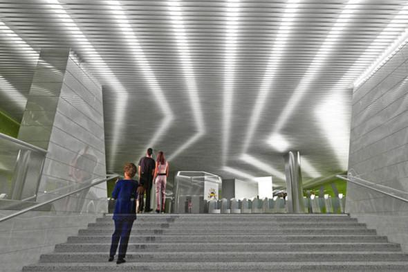 Метрополитен показал дизайн трех новых станций. Изображение № 8.
