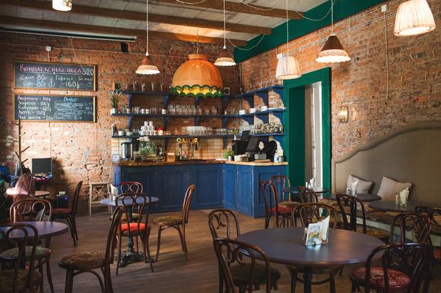 ВПушкине открылось кафе «Бакенбарды» . Изображение № 1.