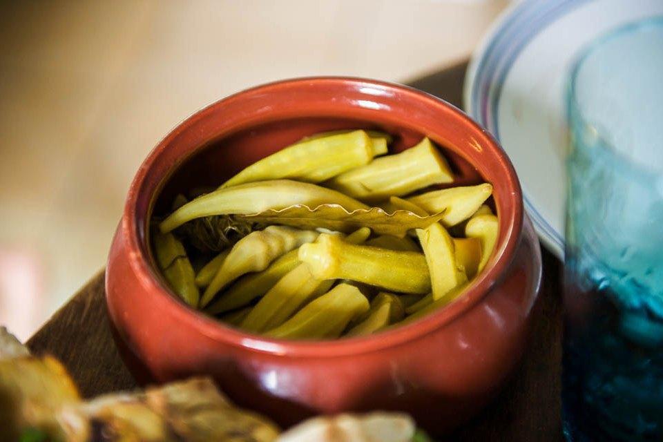 Перцы, запеченные с муссом из брынзы со сливками. Изображение № 25.