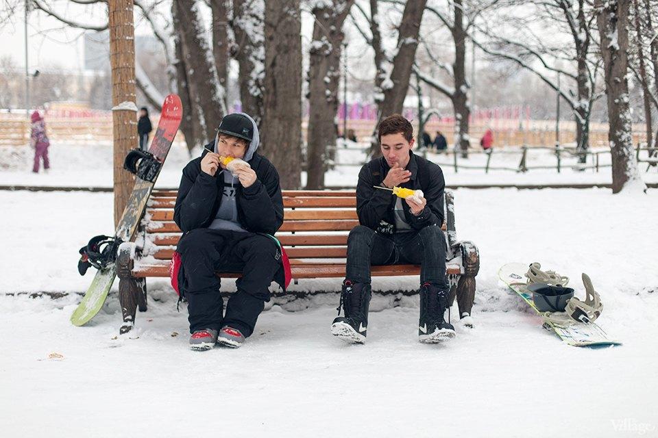 Фоторепортаж: Уличная еда взимней Москве. Изображение № 10.