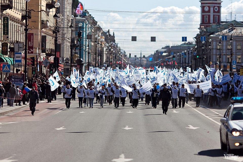 Фоторепортаж: Первомайская демонстрация. Изображение № 1.