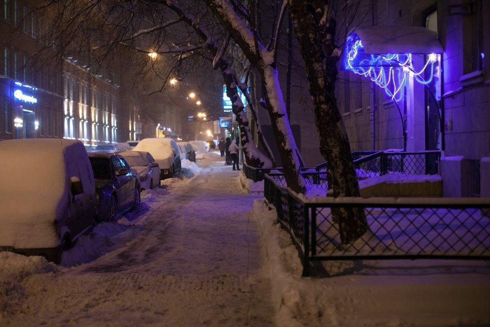 Как Москва справляется снеожиданным декабрьским снегом. Изображение № 14.