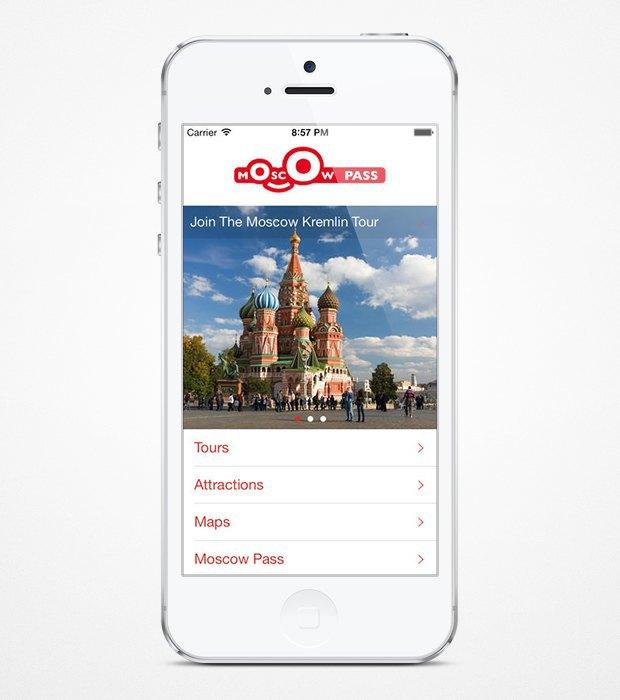 Вышло приложение-гид по Москве для иностранцев. Изображение № 1.