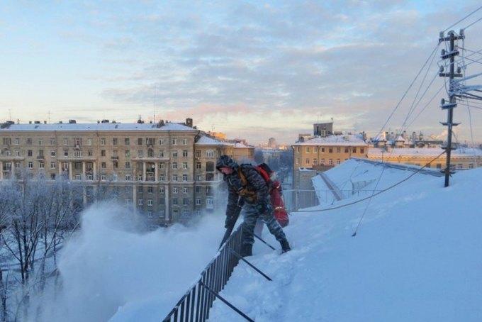 ВПетербурге коммунальщикам поручили купить воздуходувки для уборки снега. Изображение № 1.
