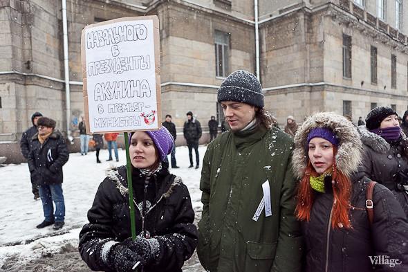 Два санкционированных митинга в Петербурге собрали 2 500 человек. Изображение № 25.