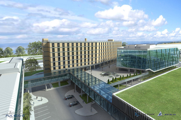 Фоторепортаж: Каким будет новый терминал Пулкова. Изображение № 14.