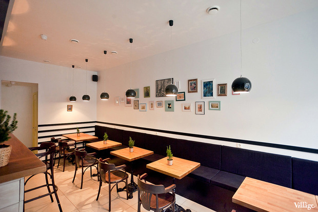 Новое место (Петербург): Кафе-бар Wood. Изображение № 9.