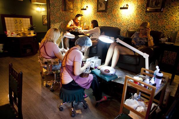 Новое место: Mr. Right Barbershop. Изображение № 27.
