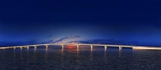 Началось строительство Яхтенного моста наКрестовский остров. Изображение № 4.