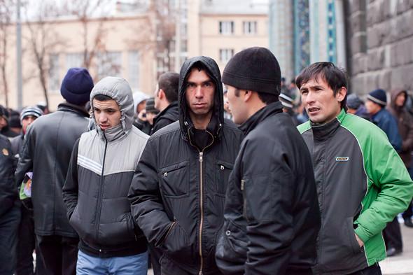 Фоторепортаж: Празднование Курбан-Байрама в Петербурге. Изображение № 6.