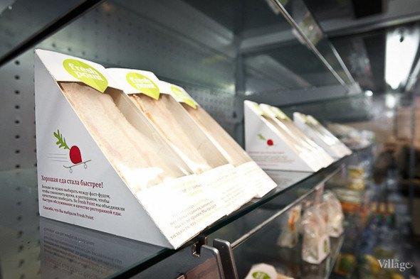 Кафе быстрого обслуживания FreshPoint открылось наЛиговскомпроспекте. Изображение № 2.