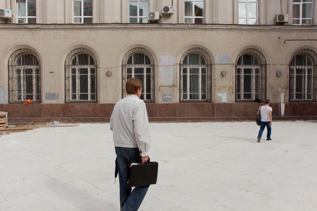 Её раскопали: Пешеходные улицы Москвы за месяц до открытия. Изображение № 11.