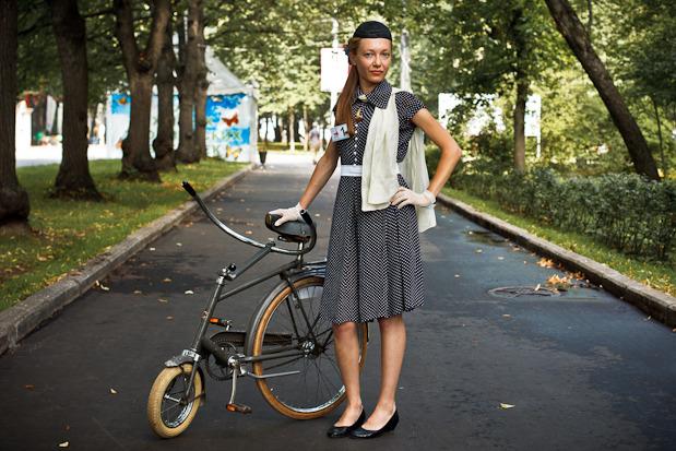 Люди в городе: Участницы парада «Леди на велосипеде». Изображение № 40.