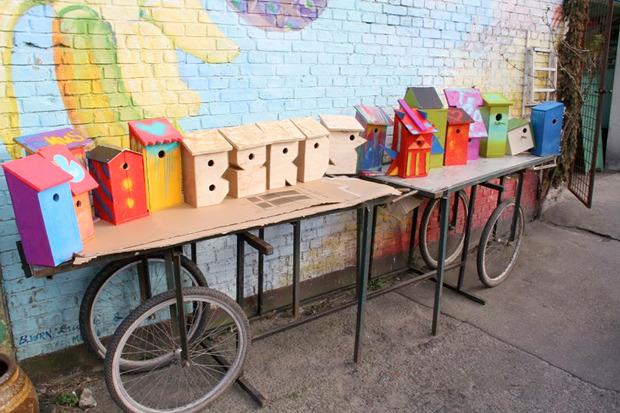 Идеи для города: Скворечники из мусора вДании. Изображение № 4.