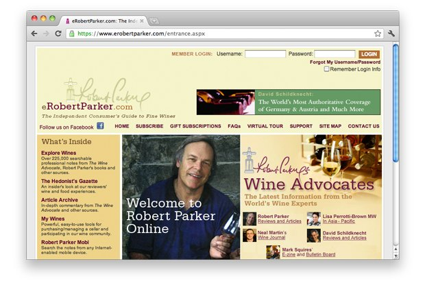 Американский журнал The Wine Advocate Роберта Паркера. Изображение № 4.