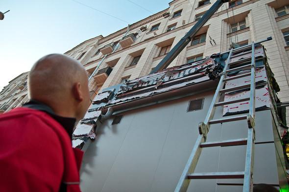 Изображение 11. Фоторепортаж: На Тверской улице появился первый ларёк нового образца.. Изображение № 6.