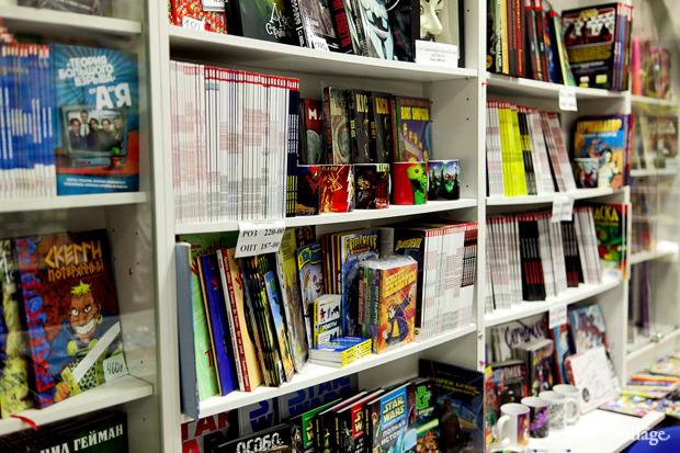 Раскадровка: 6 магазинов илавок с комиксами вПетербурге. Изображение № 22.