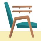 Своими руками: Обновить обивку старого кресла. Изображение № 3.