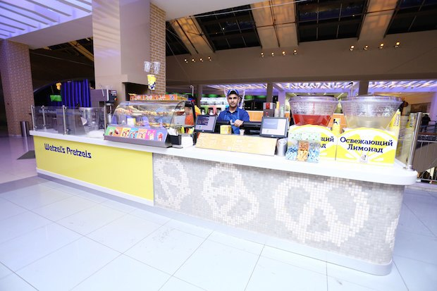 Вторговом центре «Метрополис» открылась пекарня Wetzel's Pretzels. Изображение № 1.