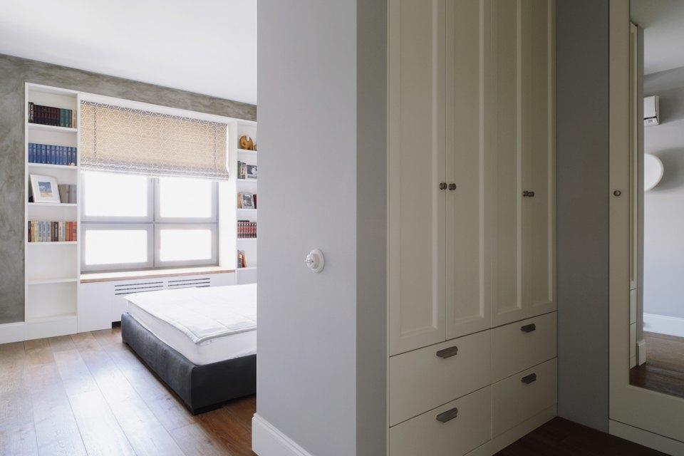 Четырёкомнатная квартира в американском стиле для семьи сдвумя детьми. Изображение № 22.