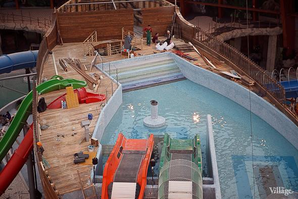 Фоторепортаж: Аквапарк Piterland изнутри. Изображение № 29.